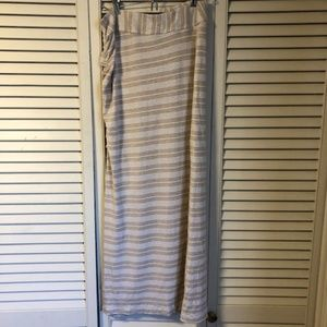 Athleta Ruched Maxi Skirt